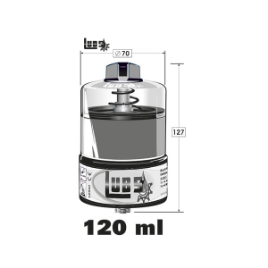 LUB5 Lubricator Filled With High Temperature Oil 120ml