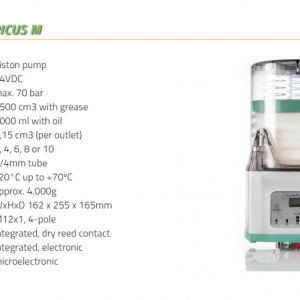 Lubricus M (for use with oil) 6 Outlets