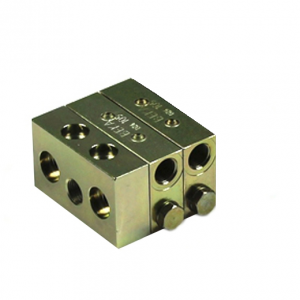 Lubricus Progressive Distributor With 2 Outlets