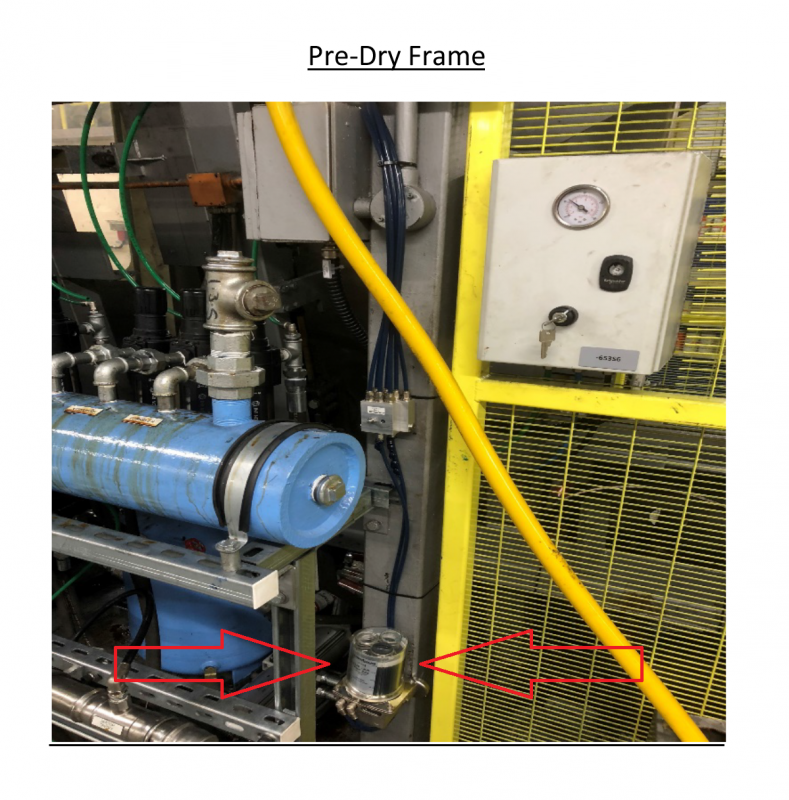 Pre Dry Frame  - Lubricus Lubrication System Type V-2  or B2